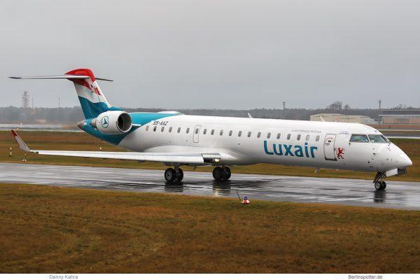 Luxair Bombardier CRJ700 S5-AAZ (TXL 2.1. 2018)