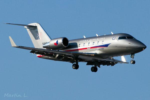 Czech Air Force, Bombardier Challenger 601 '5105' (TXL 28.2. 2018)