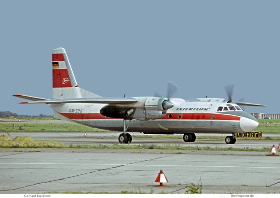 Interflug, Antonow An-24 DM-SBG (SXF 05/1973)
