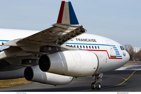 Rep. Frankreich, Armee de'l Air, Airbus A340-200 F-RAJB (TXL 21.3. 2018)
