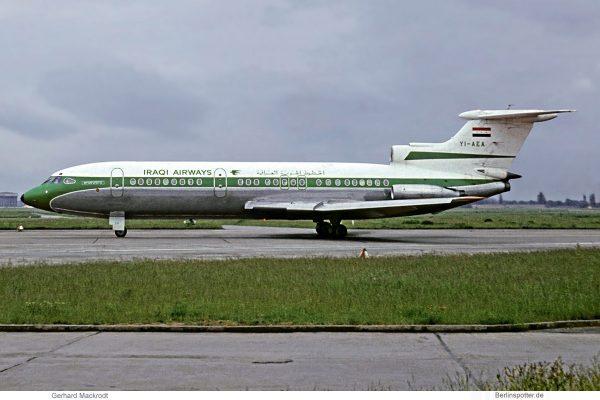 Iraqi Airways, Hawker-Siddeley HS.121 Trident 1E YI-AEA (SXF 19.5. 1974)