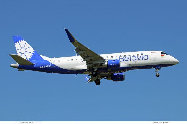 Belavia, Embraer 175LR EW-512PO (SXF 4.5. 2018)