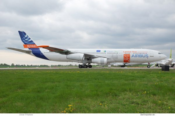 Airbus Industries, Airbus A340-300 BLADE F-WWAI (SXF 24.4. 2018)