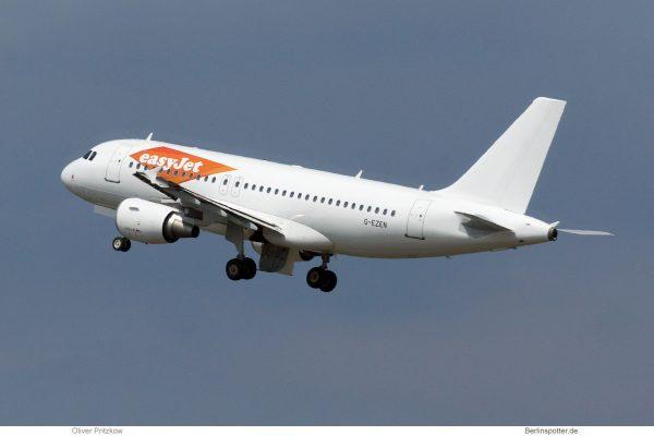 easyJet, Airbus A319-100 G-EZEN (TXL 18.6. 2018)