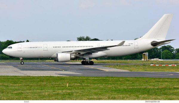 Almasria Universal Airlines, Airbus A330-200 SU-TCH (SXF 16.6. 2018)