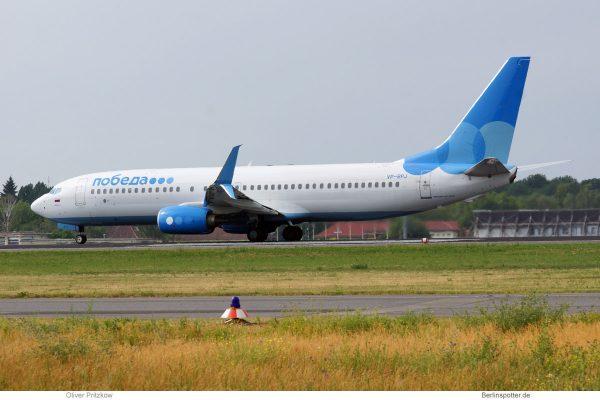 Pobeda, Boeing 737-800(WL) VP-BPJ (TXL 3.6. 2018)