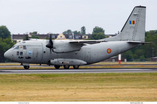Romanian Air Force, Alenia C-27 'Spartan' 2703 (TXL 6.7. 2018)