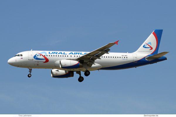 Ural Airlines Airbus A320-200 VQ-BGI (SXF 29.6. 2018)