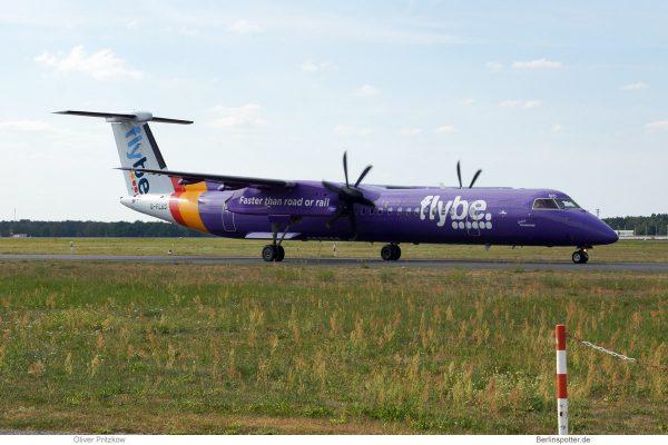 Flybe, Bombardier Q400 G-FLBD (TXL 18.8. 2018)