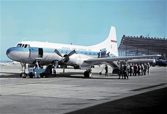 LOT Polish Airlines, Convair CV-240 SP-LPE (SXF 1961)