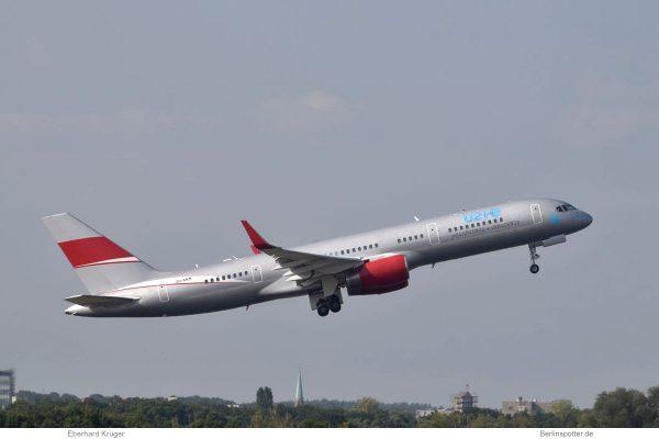 JetMagic, Boeing 757-200(WL) 9H-AVM, U2-Tour-Jet (TXL 3.9. 2018)