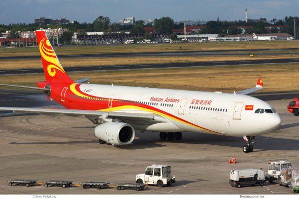 Hainan Airlines, Airbus A330-300 B-6527 (TXL 5.9. 2018)
