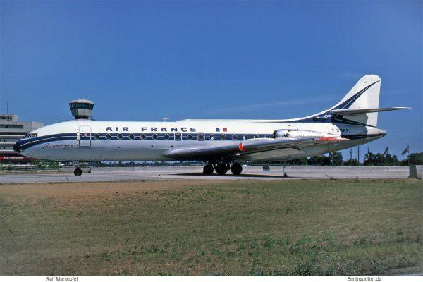 Air France, Sud Aviation SE-210 Caravelle III (TXL 07/1976)