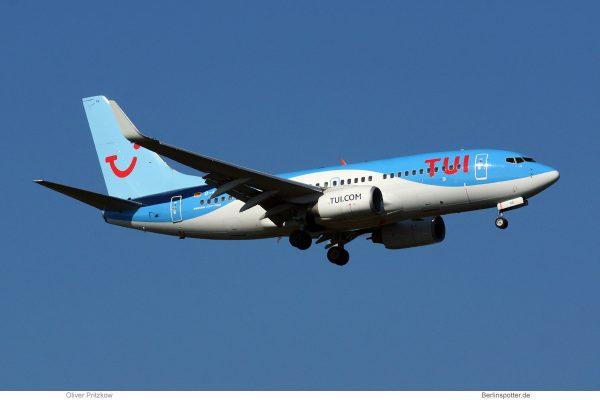 TUIfly, Boeing 737-700(WL) D-AHXG (TXL 14.10. 2018)