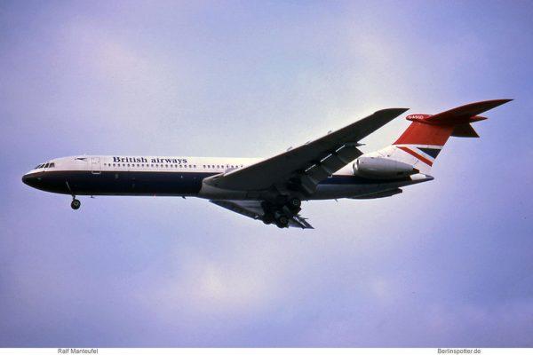 British Airways, Vickers Super VC-10 G-ASGD (TXL 02/1977)