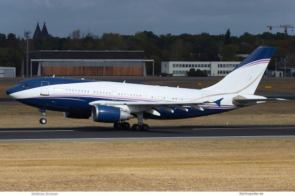 Al-Atheer Aviation, Airbus A310-300 HZ-NSA (TXL 3.10.2018)