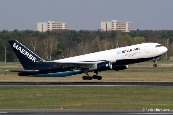 Star Air, Boeing 767-200 (BDSF) OY-SRN (TXL 18.4.2012)