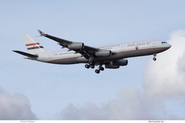Arab Republic of Egypt, Airbus A340-200 SU-GGG (TXL 28.10. 2018)