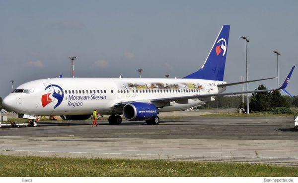Travel Service, Boeing 737-800(WL) OK-TVO, Moravian-Silesian Region (TXL 12.9. 2015)