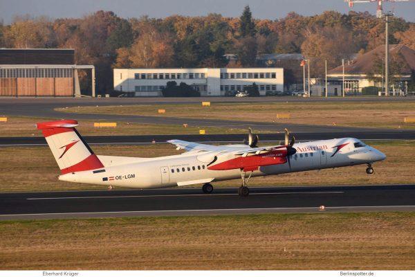 Austrian Airlines, Bombardier Q400 OE-LGM (TXL 5.11.2018)