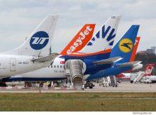 Airlines am Flughafen Tegel