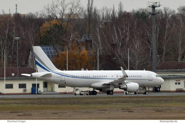 Prime Aviation, Airbus A320(CJ)(WL) M-YBUS, TXL 7.12.2018