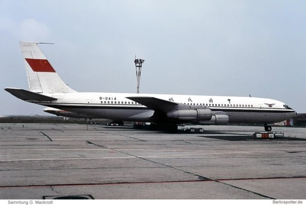 CAAC, Boeing 707-300C B-2414 (SXF 19.6.1980)