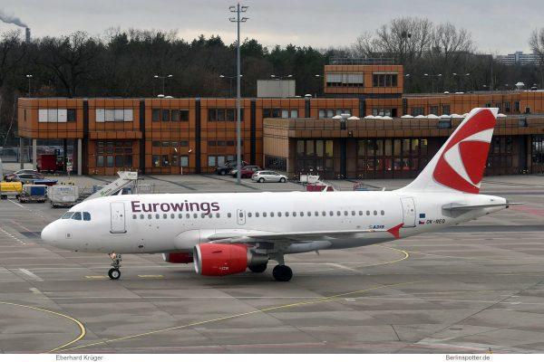 Eurowings, Airbus A319-100 OK-REQ (TXL 5.1.2019)