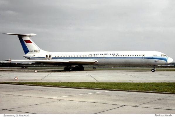 Aeroflot, Iljuschin Il-62 CCCP-86682 (SXF 18.4.1975)