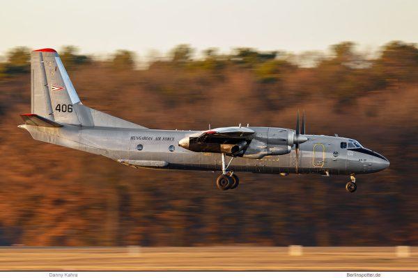 Hungarian Air Force, Antonov 26 '406' (TXL 22.2.2019)