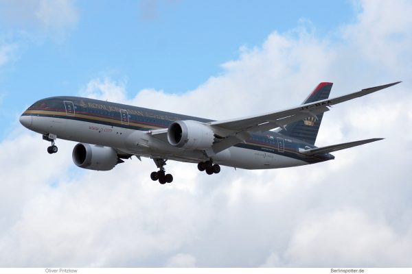 Royal Jordanian, Boeing 787-8 Dreamliner JY-BAA (TXL 9.2.2019)