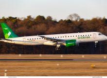 Wideroe, Embraer 190-E2 LN-WEC (TXL 22.2.2019)
