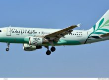 Cyprus Airways, Airbus A319-100 5B-DCW (SXF 30.3.2019)