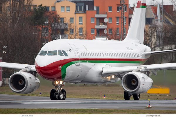 Royal Flight of Oman, Airbus A319(CJ) A4O-AJ (TXL 10.3.2019)