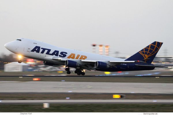 Atlas Air, Boeing 747-400F N475MC (SXF 19.3.2019)