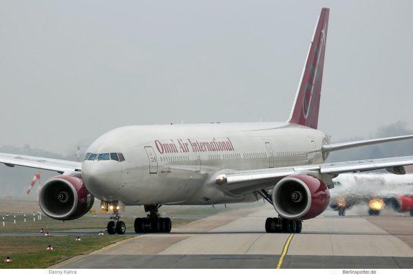 Omni Air International Boeing 777-200ER N819AX (TXL 22.3.2019)