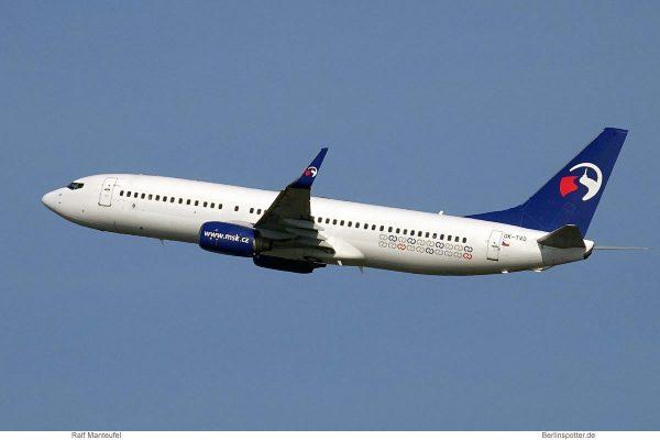 Travel Service, Boeing 737-800(WL) OK-TVO (SXF 23.3.2019)