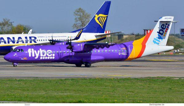 flybe, ATR72-500 G-ISLL (SXF 20.4.2019)