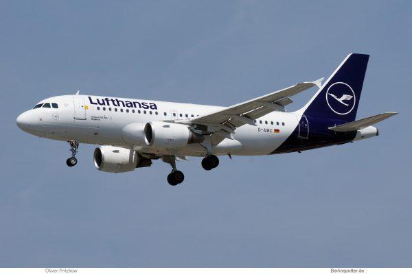 Lufthansa, Airbus A319-100 D-AIBC (TXL 30.5.2019)