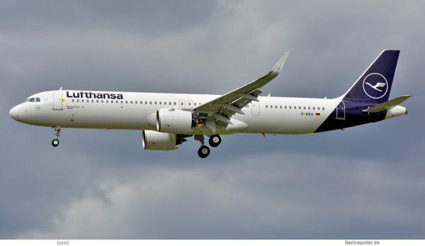 Lufthansa, Airbus A321neo D-AIEA (SXF 4.5.2019)
