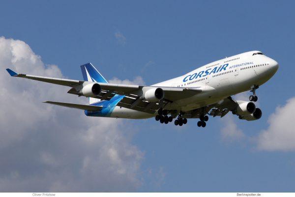 Corsair, Boeing 747-400 F-GTUI (SXF 27.8.2013)