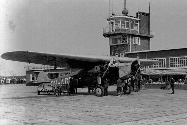 Fokker F.VII-3m der KLM in Amsterdam (Foto: CC0, Wiki)