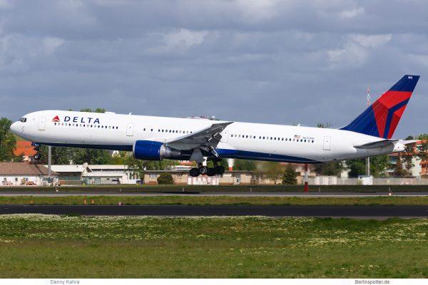 Delta Air Lines, Boeing 767-400ER N837MH (TXL 3.5.2019)