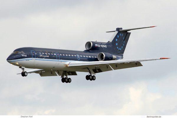 Sirius-Aero, Yakovlev 42D RA-42445 (SXF 6.5.2019)
