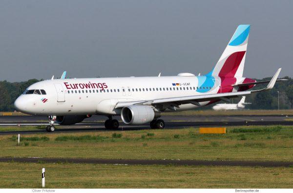 Eurowings, Airbus A320-200(SL) D-AEWF (TXL 5.6.2019)