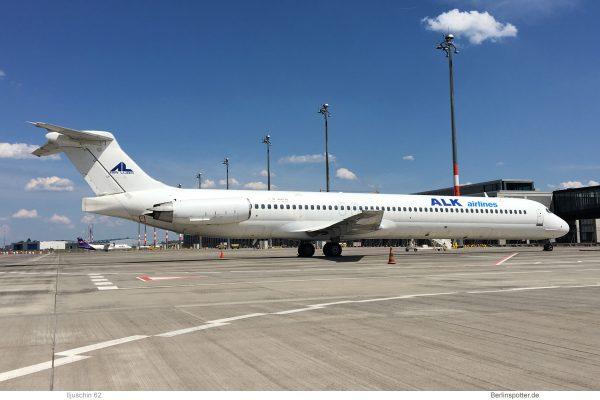 ALK Airlines, McDonnell-Douglas MD-82 LZ-DEO (SXF 16.6.2019)