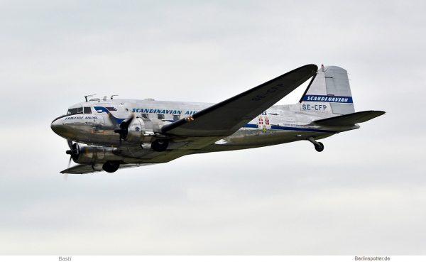 privat, Douglas DC-3C SE-CFP (SXF 16.6.2019)
