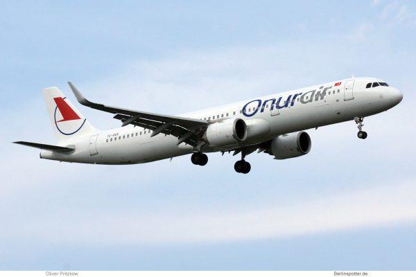 Onur Air Airbus A321neo TC-OEE (TXL 19.6.2019)