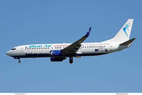 Blue Air, Boeing 737-800(WL) YR-BMH, City of Liverpool cs. (SXF 9.6.2019)