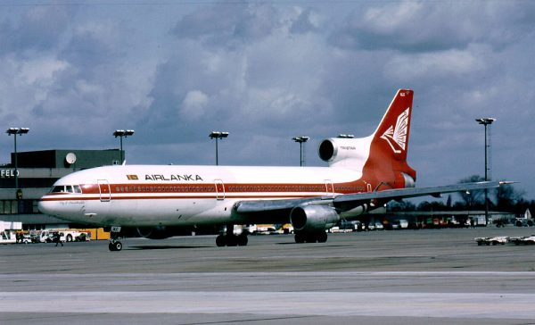 Air Lanka, Lockheed L-1011 TriStar 500 4R-ULC (SXF 06/1992)